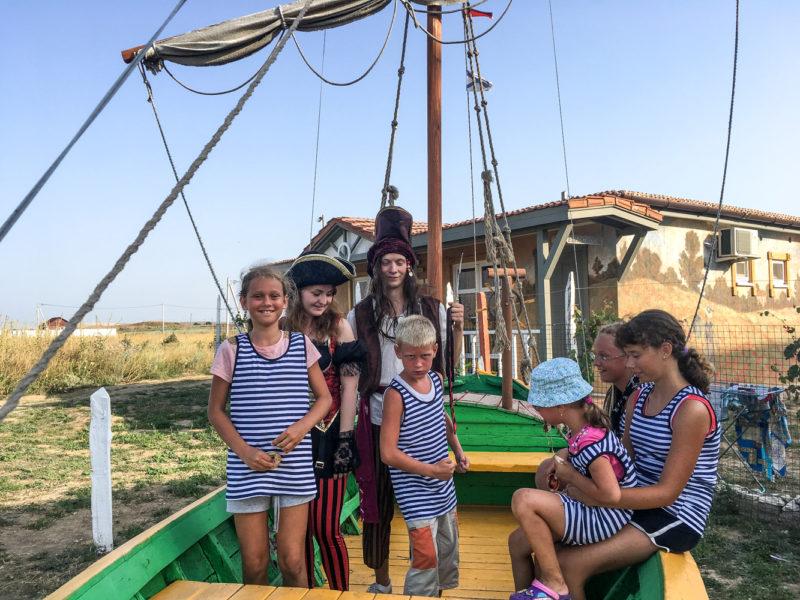 отдых детей в отеле Лаванда Азов