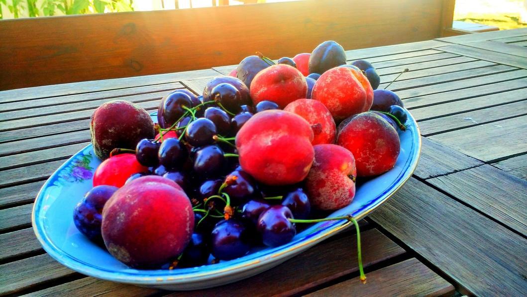 свежие фрукты в отеле