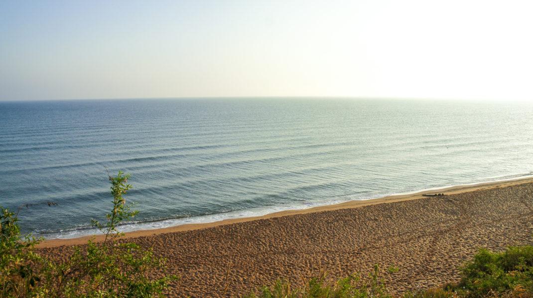 Азовское море в Кучугурах